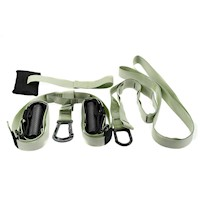 Powertrain Exercise Suspension Straps in Green 3.4m