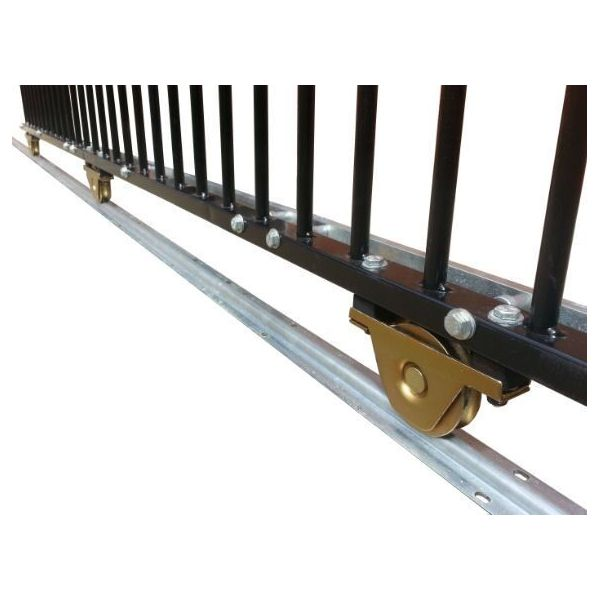 driveway farm diy steel sliding gate hardware kit buy
