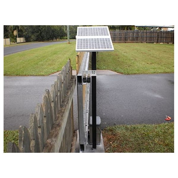 Solar powered automatic sliding gate opener package buy