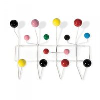 Eames Replica Multicolour Hang It All Wall Rack
