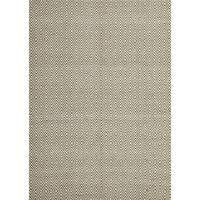 Casa Green Diamond Rug Jute Cotton 155x225cm