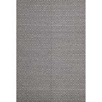 Casa Black Diamond Rug Jute Cotton 155x225cm