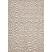 Casa Beige Diamond Rug Jute Cotton 155x225cm