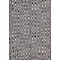 Casa Chocolate Diamond Rug Jute Cotton 155x225cm