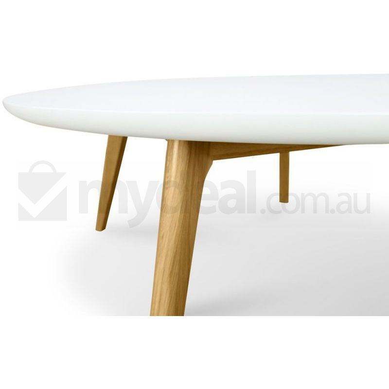 Jolanda White Oak Coffee Table Scandinavian Design Buy Tables
