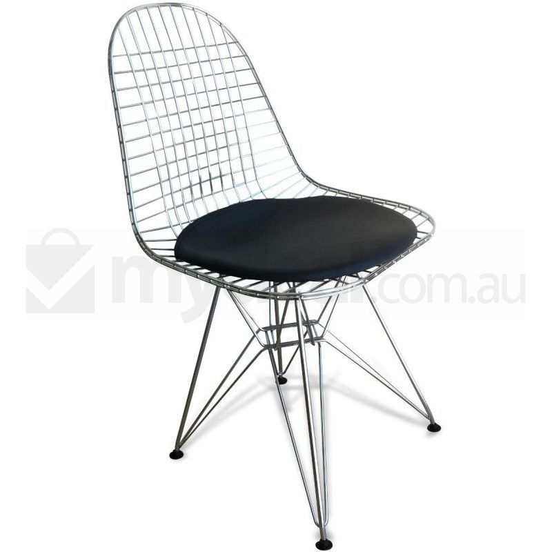 Eames Replica DKR Chrome Wire Dining Chair Black Buy  : DC130 RN0001 from www.mydeal.com.au size 800 x 800 jpeg 48kB