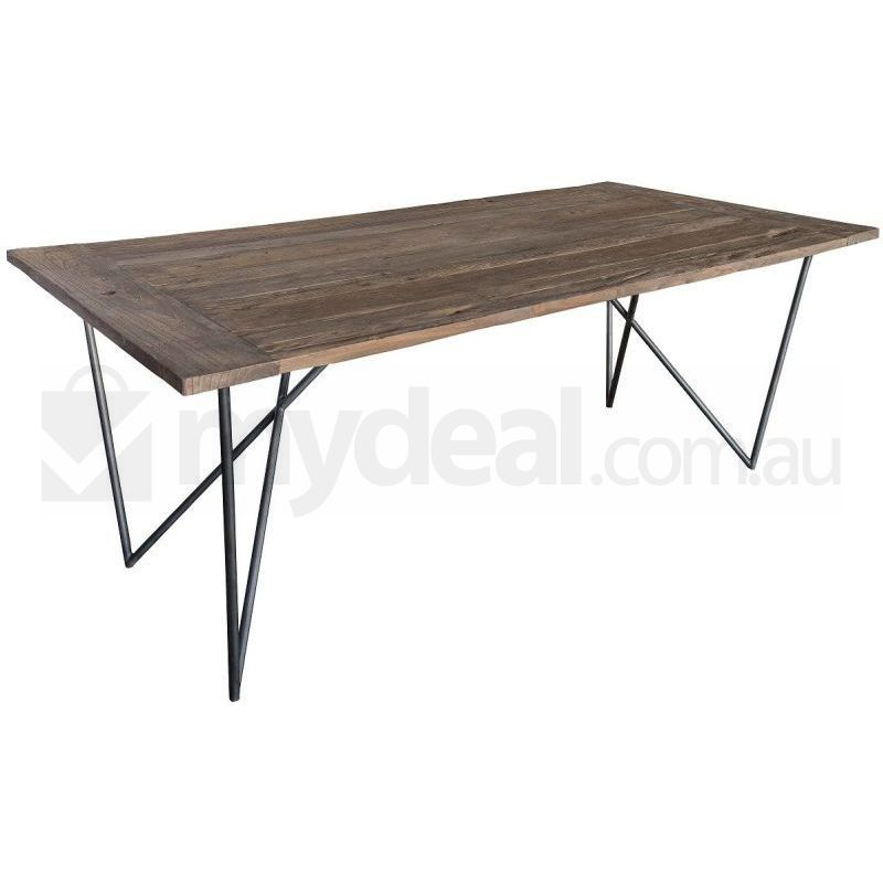 Antigo Rustic Natural Wooden Dining Table Reclaimed Buy  : DT7360001 from www.mydeal.com.au size 800 x 800 jpeg 41kB