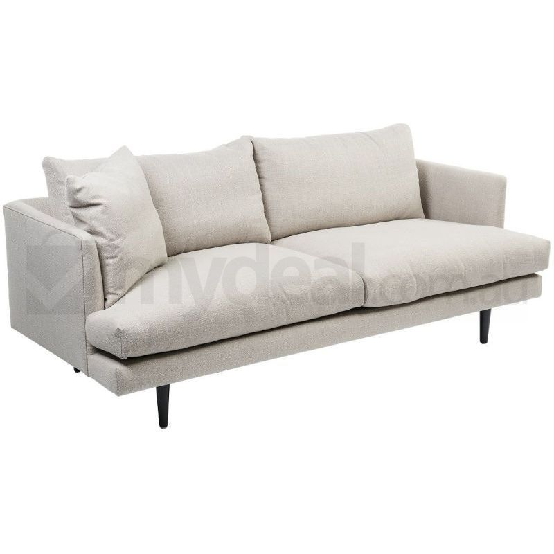 Addison Beige Neutral Fabric Sofa Wide 2 5 Seater Buy Fabric Sofas