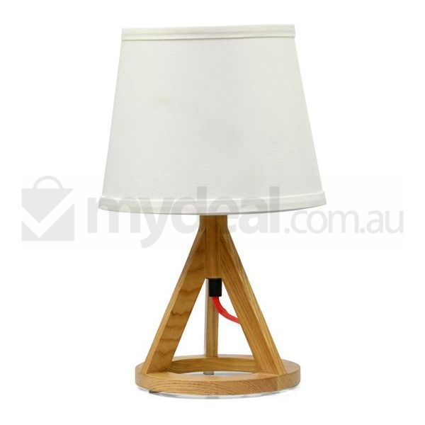 paris geometric tripod table lamp with white shade buy table lamps. Black Bedroom Furniture Sets. Home Design Ideas