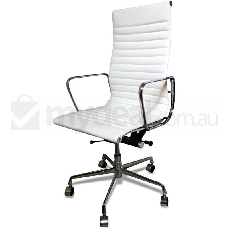 Eames Replica White Executive Leather Office Chair Buy Boardroom Chairs