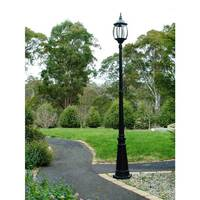 Victorian Outdoor Lighting Garden Lamp Post - Black