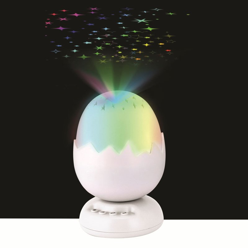 Colourful Lullaby Star Projector Baby Night Light