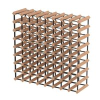 72 Bottle Wine Rack Storage System Pinewood Timber