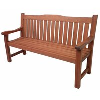 Hamburg Outdoor Classic Shorea Garden Bench 1.6m