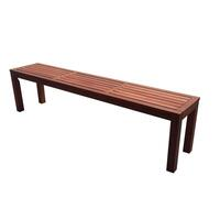 Outdoor Patio Shorea Wood Dining Bench Seat 150cm