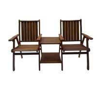 Shorea Hardwood Jack and Jill Outdoor Chair & Table