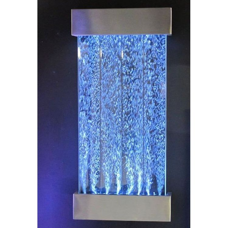 16 colour wall mount bubble water feature 57x122cm buy - Wall mounted water feature ...