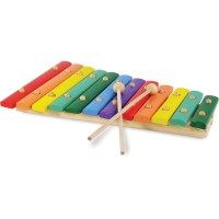 Vilac Kids Giant Xylophone Music Toy with 12 Tones