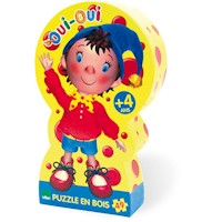 Vilac Kids Noddy Wooden Jigsaw Puzzle 49pc 25x25cm