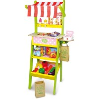 Vilac Kids Pretend Play Grocery Store w Accessories