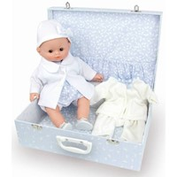 My Fashionable Baby in Suitcase Petitcollin Doll