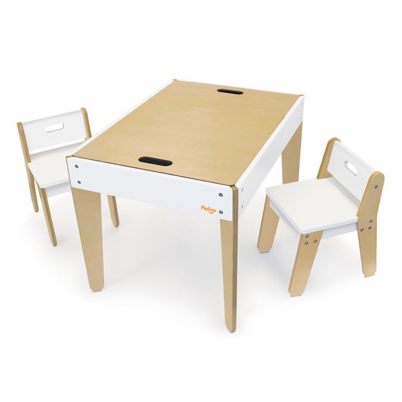 P'kolino Little Modern Kids Tables and Chairs Set