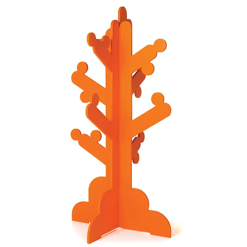 P'kolino Kid's Clothes Rack Coat Stand Tree Orange