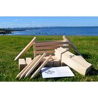 Classic Outdoor Wooden Kubb Lawn Game Set