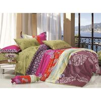 Binfen Queen Size Quilt Doona Duvet Cover Set 300TC