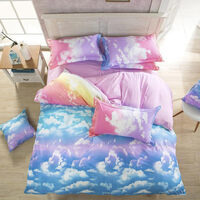 Clouds Queen Size Doona Duvet Quilt Cover Set