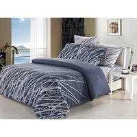 Esha Super King Size Doona Duvet Quilt Cover Set