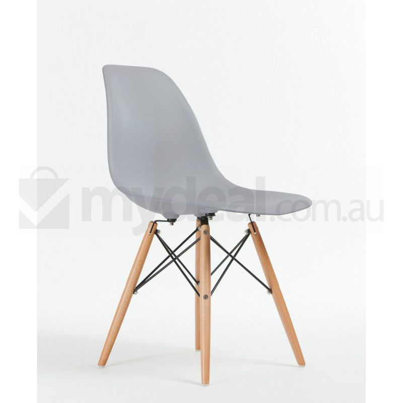 4 pack replica eames eiffel dsw dining chair grey buy for Eames dsw replica deutschland