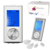 Dual Channel Pain Massager LCD Display TENS Machine