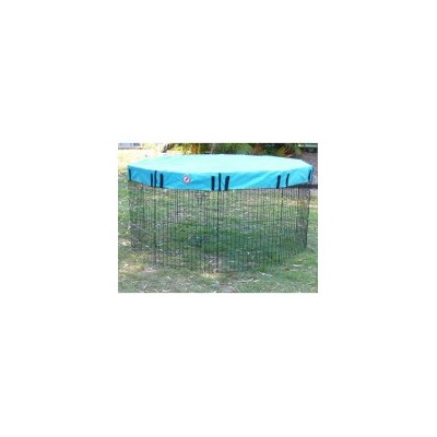 61cm Pet Puppy Playpen with Showerproof Cover Teal
