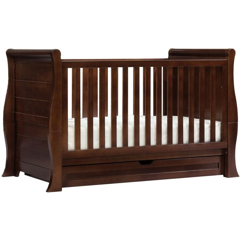 bebe care imperio baby cot crib toddler bed walnut buy cots. Black Bedroom Furniture Sets. Home Design Ideas