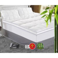 Queen Size Bamboo Mattress Topper - 1000GSM