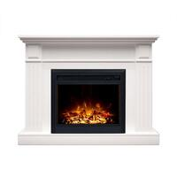 Berwick Electric Mantel Fireplace in White 2000W