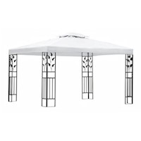 Bloem Outdoor Portable Gazebo Canopy in White 3x4m