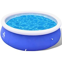 Inflatable Swimming Pool in Blue PVC 360x90cm 6654L