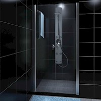 Double Swing Glass Shower Enclosure Door 900mm