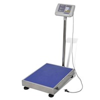 Electric Platform Scale w Rechargeable Battery 230V