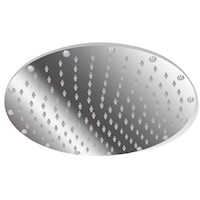 Stainless Steel Round Rainfall Shower Head 40cm