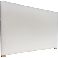 York King Fabric Upholstered Headboard in Oatmeal