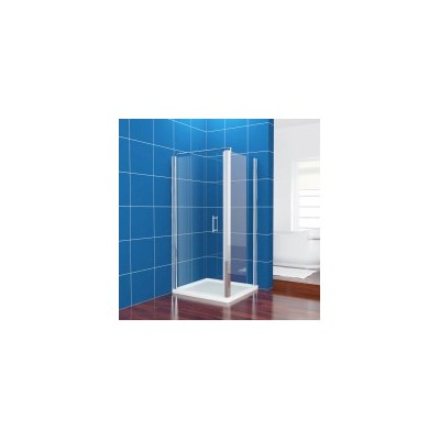 Pivot Glass Shower Screen Enclosure 900x700mm