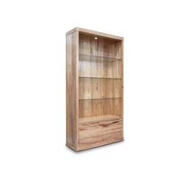Elwood Large Tasmanian Oak Bookcase Display Unit