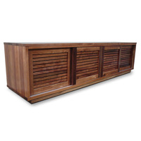 Hamilton Louver TV Stand Entertainment Unit 2.2m