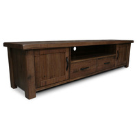 Yarra Glen Oak TV Stand Entertainment Unit 2.2m