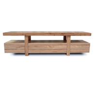 Bondi Oak Wooden TV Stand Entertainment Unit 1.8m