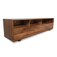 Manhattan Blackwood TV Stand Entertainment Unit 2m