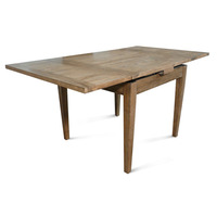 Barossa Oak Wooden Extension Dining Table 0.9-1.65m